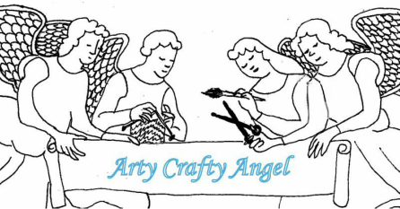 Arty Crafty Angel